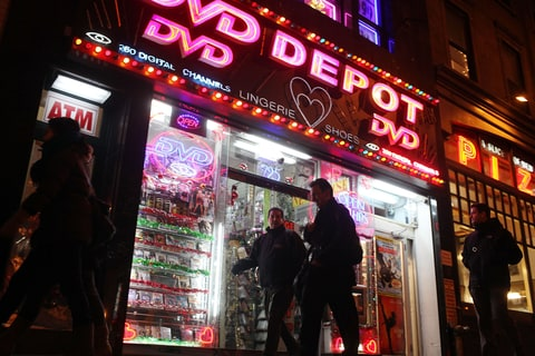 DVD Adult store