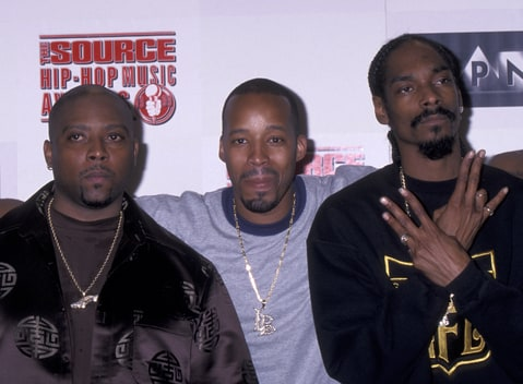 Nate Dogg, Warren G and Snoop Dogg