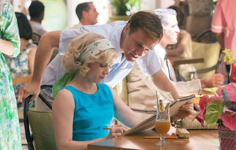 Christoph Waltz and Amy Adams in 'Big Eyes.'