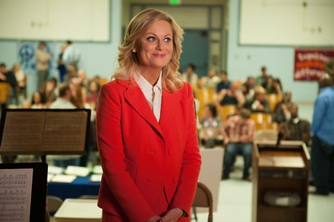 Amy Poehler as Leslie Knope on 'Parks and Recreation.'