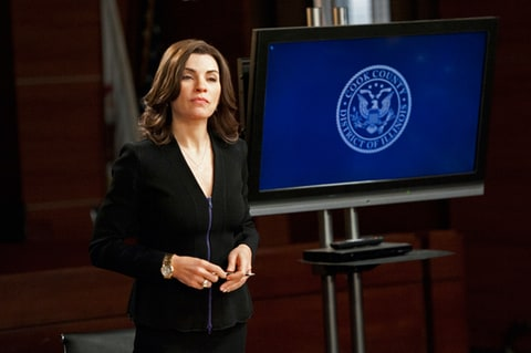 Julianna Margulies as Alicia Florrick on 'The Good Wife.'