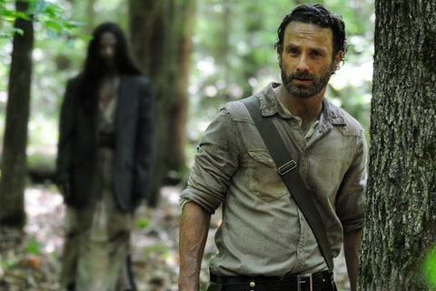 Andrew Lincoln as Rick Grimes on 'The Walking Dead.'