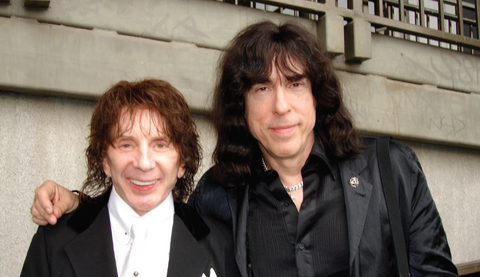 Phil Spector and Marky Ramone