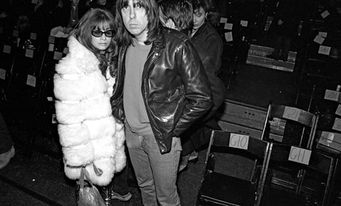 Johnny and Linda Ramone