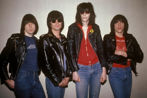 Johnny, Dee Dee, Joey and Marky