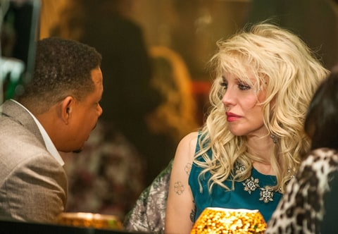 Terrence Howard and Courtney Love