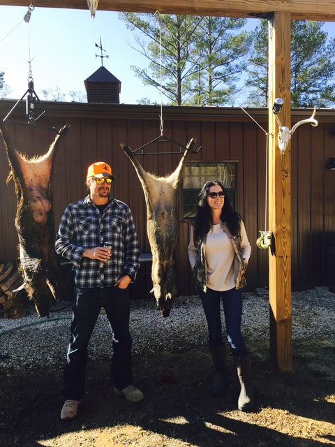 Rock Girlfriend Audrey And Unlucky Feral Hogs At His Alabama Home Patrick Doyle