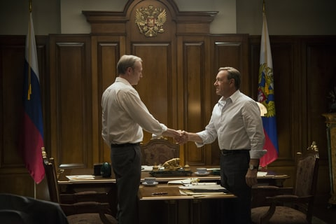 Lars Mikkelsen and Kevin spacey