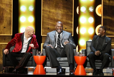 Jeffrey Ross, Shaquille O'Neal and Kevin Hart