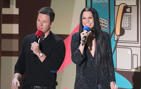 Mark Wahlberg and Jessie J