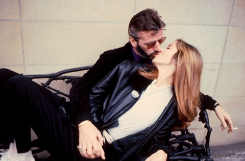 Ringo Starr and his Barbara Bach