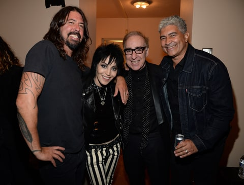 Dave Grohl, Joan Jett, Kenny Laguna and Pat Smear