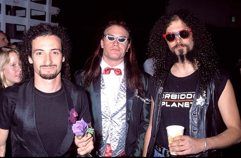 Mike Bordin, Mike Patton and Jim Martin