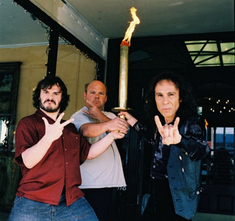 Tenacious D and Ronnie James Dio