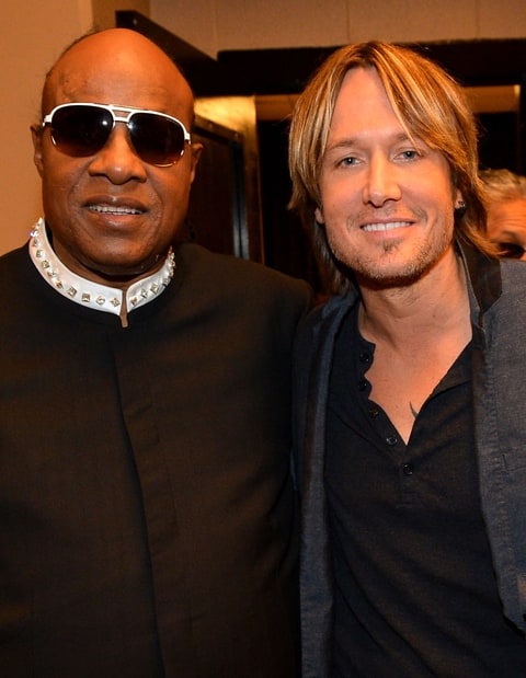 Stevie Wonder Keith Urban