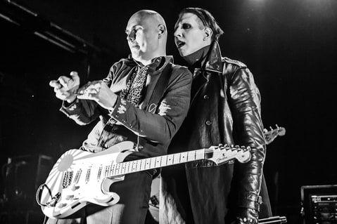 Billy Corgan and Marilyn Manson