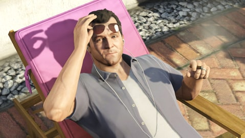 A still from 'Grand Theft Auto V.'