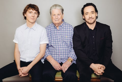 Paul Dano, Wilson and John Cusack