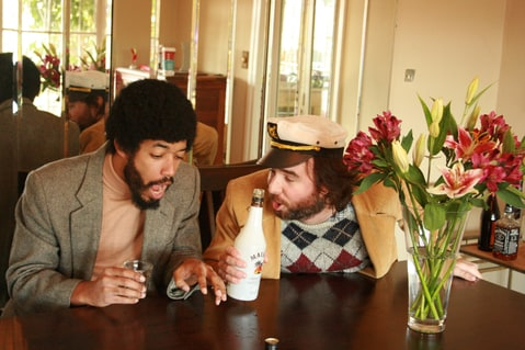 Wyatt Cenac and JD Ryznar
