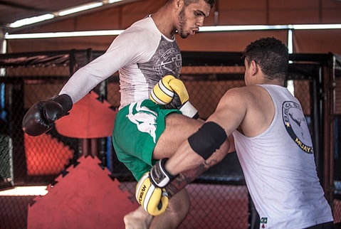 Mixed Martial Arts training, Galoucura gym, Belo Horizonte