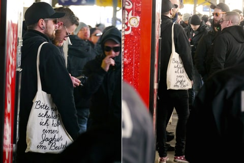 Neo-Nazi Hipsters in Magdeburg, Germany.