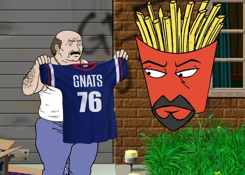Carl Brutananadilewski aqua teen hunger force
