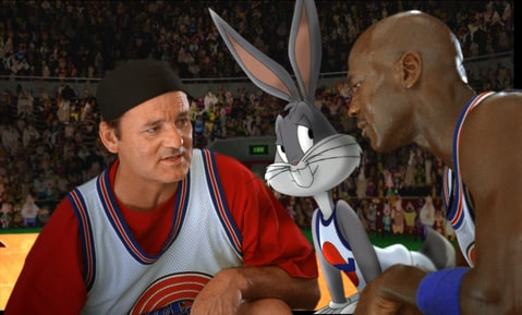 Bill Murray, Bugs Bunny and MIchael Jordan