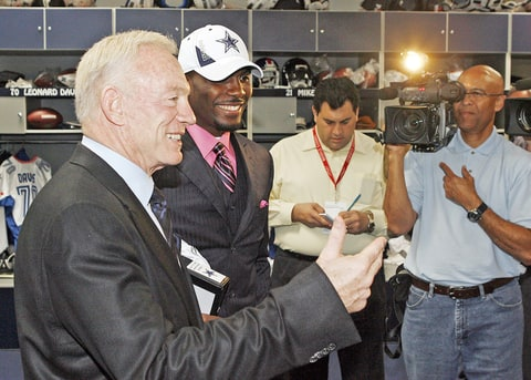 Jerry Jones and Dez Bryant