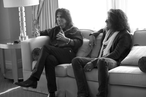 Alice Cooper and Joe Perry