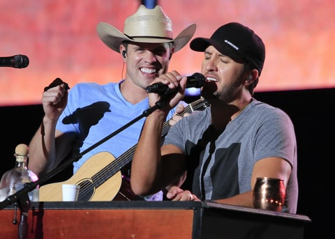 Luke Bryan Dustin Lynch