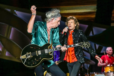 Mick Jagger; Keith Richards