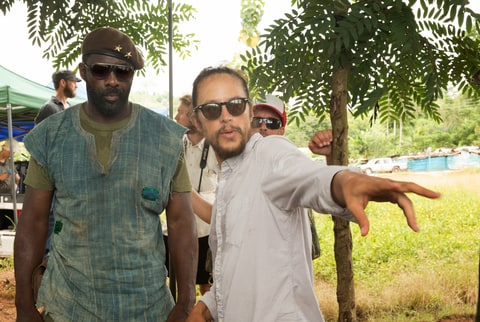 Idris Elba and Cary Fukunaga