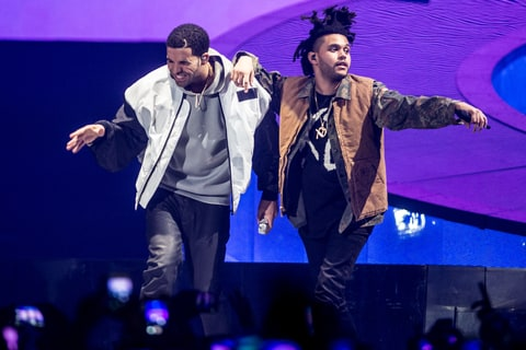 Drake and The Weeknd