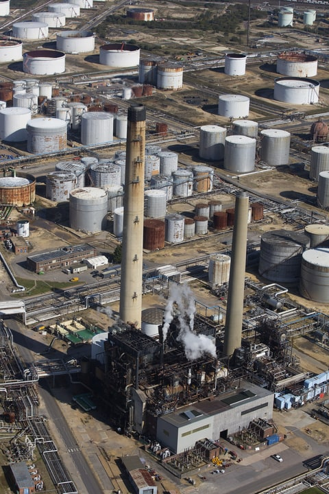 The Esso Oil Refinery; Exxon Mobil