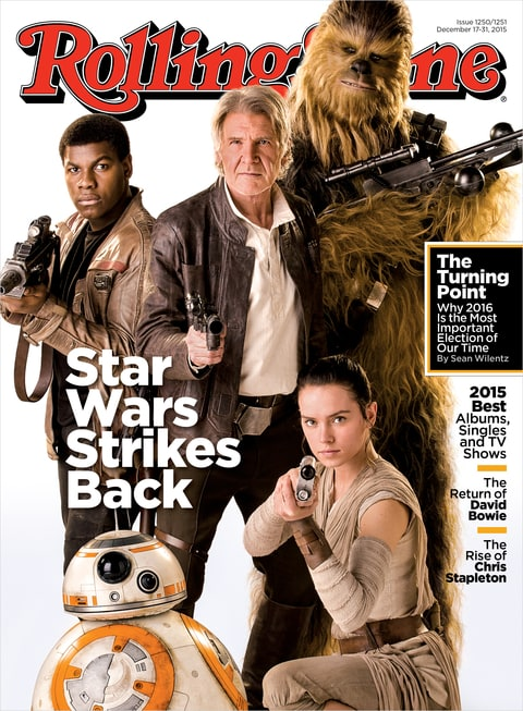 Star Wars; Force Awakens; Rolling Stone; Cover