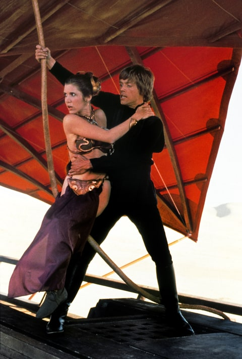 Mark Hamill; Carrie Fischer; Return of the Jedi