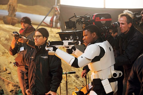 Boyega; Star Wars; Force Awakens