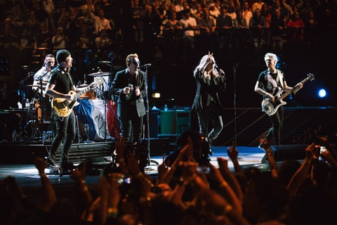 U2; Paris; Patty Smith