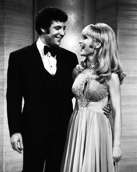 Tom Jones; Barbara Eden