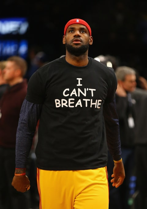 Lebron; I Can't Breathe