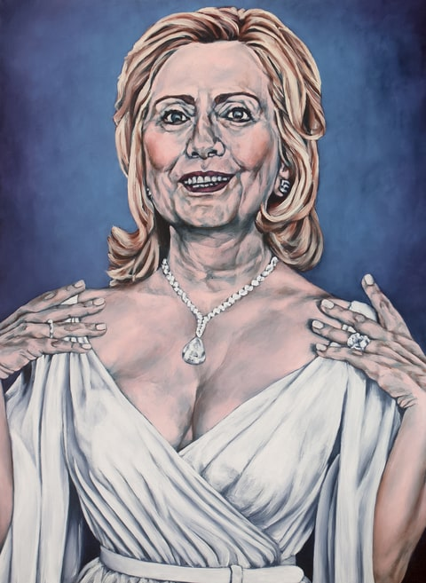 Hilary Clinton Paintings