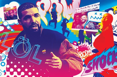 Drake; year in Review 2015