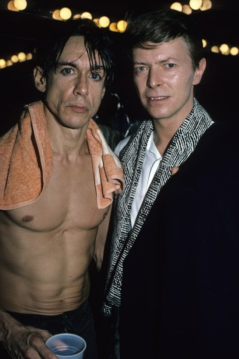 Iggy Pop, David Bowie