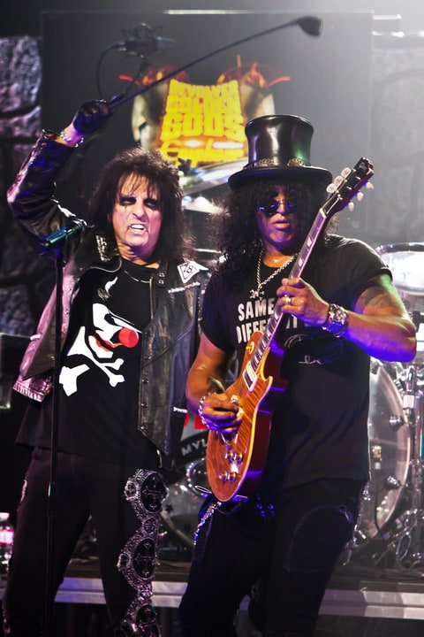 Alice Cooper; Slash