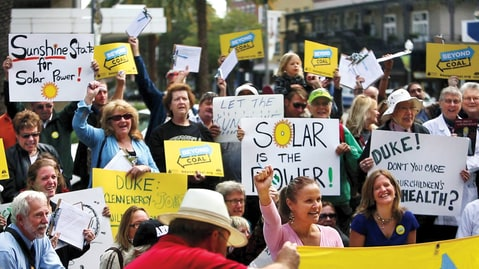 Florida; Solar Power; Opposition