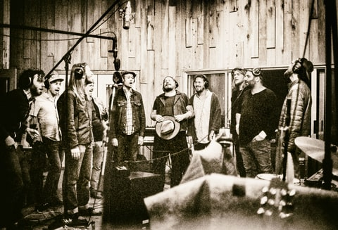 Edward Sharpe; Studio