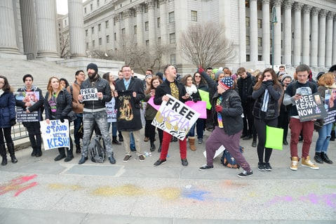 Court Hearing; Fans; Kesha