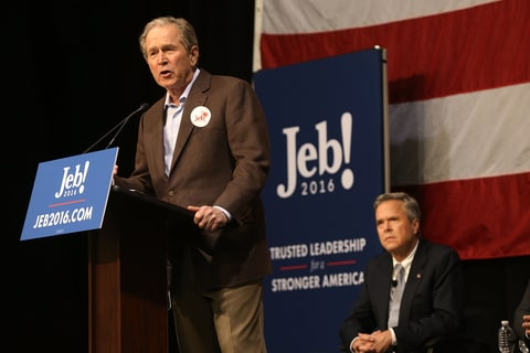 GOP; Jeb Bush; Campaigns; George W. Bush