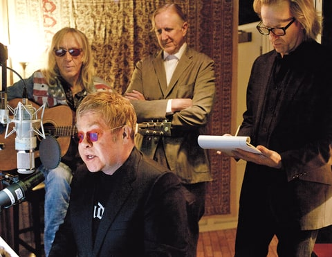 Elton John; Recording; Wonderful Crazy Night