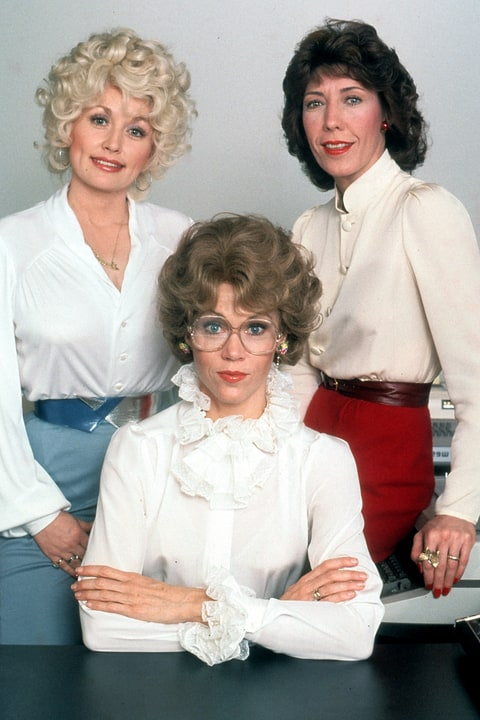 Dolly Parton, Lily Tomlin, Jane Fonda